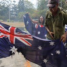 Australia's national day fuels debate on colonial past