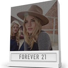 Forever 21 Features Video Wall Made of ... Thread?