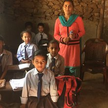 Two Years After The Earthquake, These Nepali Schoolchildren Are Still Without A Classroom
