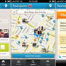 A Tour of Foursquare's Redesigned App