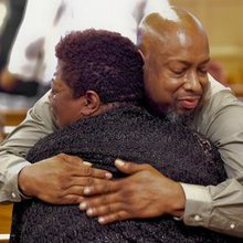 'When it happens to one of us, it happens to all:' Huntsville vigil for Charleston shooting victi...