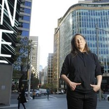 Jenny Holzer's Sydney installation shines a light on indigenous stories