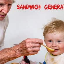 Financial Crunch for the Sandwich Generation