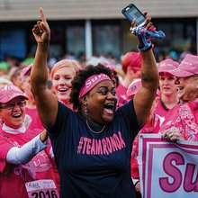 Thousands of Race for the Cure participants continue the fight against breast cancer