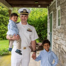 Hero Dad: Finding the balance between duty, diapers and deployment