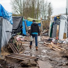 Refugees in Calais jungle reveal their hopes for 2016