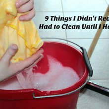 9 Things I Didn't Realize I Had to Clean Until I Had Kids