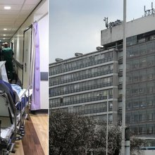 London hospitals struggling with bed space due to high demand