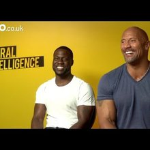 Kevin Hart and Dwayne 'The Rock' Johnson talk Central Intelligence and Jumanji