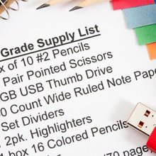 BACK TO SCHOOL: School supplies by the numbers