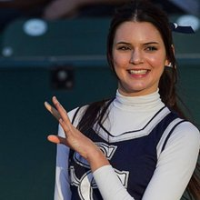 Kendall Skipped Her First Runway Gig for Cheerleading Practice