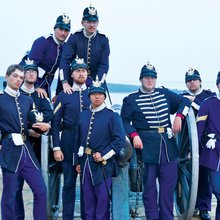 Visitors From Across U.S. Celebrate July 4th at Fort Mackinac