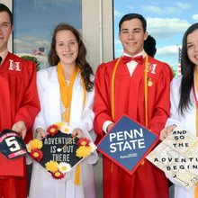 Graduates times four