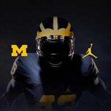 Michigan's Jumpman Football Uniforms Unveiled