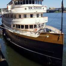 UnCruise's S.S. Legacy on the Columbia River - Land of grapes & rivers of wine - River Cruise Adv...