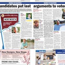 Candidates put last argument to voters