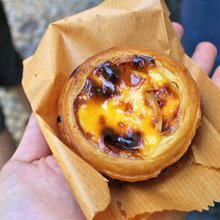 The baker behind Macau's famous egg custard tarts
