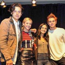 'Riverdale' Core Four take on Wizard World Comic Con in Philadelphia
