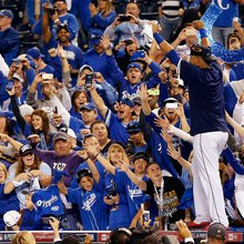 Blue Heaven: Royals fans can't stop pinching themselves