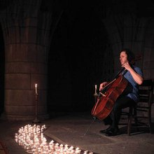 Cellist Matt Haimovitz Conjures Bach and Recent Commissions in a Crypt