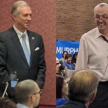 NJ Governor Candidates Murphy and Wisniewski Campaign at Rutgers
