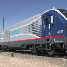 Green, fast locomotives coming to region