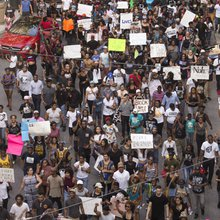 More than 10,000 Atlantans peacefully protested police misconduct, racial injustice