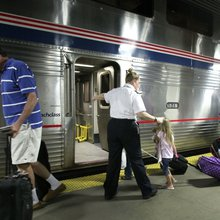 Chugging west on Amtrak, family-style