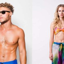 Bathe in the Sun Wearing Trèfle Designs Swimwear and Resortwear