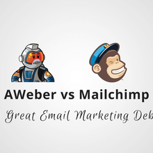 AWeber vs Mailchimp: The Great Email Marketing Debate