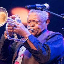 [PHOTOS] Hugh Masekela wow crowd at Safaricom Jazz Lounge