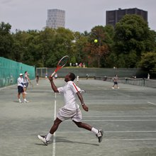 Central Park Tennis Center in Manhattan Is a Place for Passionate Players
