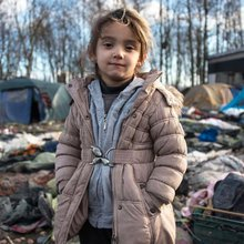Amid rats and mud, refugees struggle in French camp