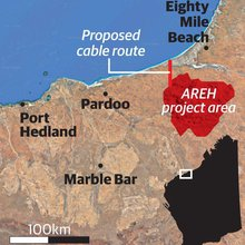 NW solar, wind plant bigger than Perth to power Asia