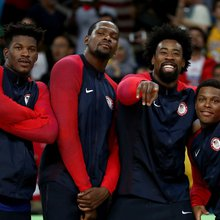 Team USA saved their best performance for last