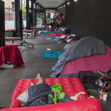 Why the Martin Place homeless need defending