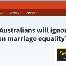 Think young Australians will ignore a nonbinding mail-in vote on marriage equality? Think again.