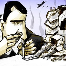 Syrian cartoonists lampoon Bashar Assad and Islamic State