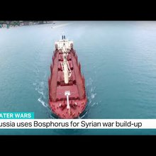 Russia uses Bosphorus for Syrian war build-up, Andrew Hopkins reports