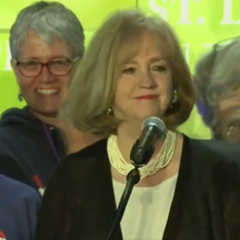 Glass ceiling shattered; Krewson new mayor of STL