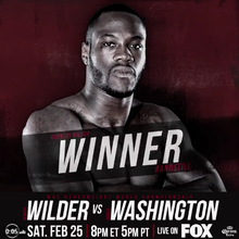 Deontay Wilde stops Gerald Washington