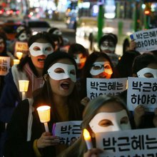 South Korea's umbrella movement? How protests against Park Geun-hye exposed cracks in a 'slave' d...