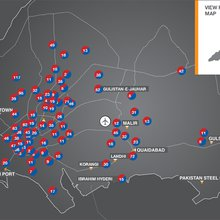 Interactive: Karachi's killing fields