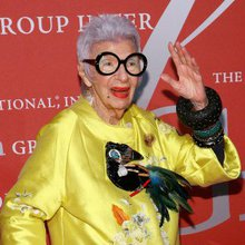 Style Icon Iris Apfel on Living Life Without Rules