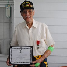 Shinnston resident receives French honor for WWII heroism
