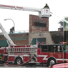 Barraco's in Evergreen Park Sustains Heavy Damage in Early Morning Fire - Evergreen Park, IL Patc...