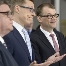 The trouble with Finland's treble coalition