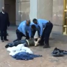 Metropolitan Police Take No Chances With Farragut Homeless Man