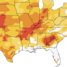 Interactive: Mapping The U.S. Drought : NPR