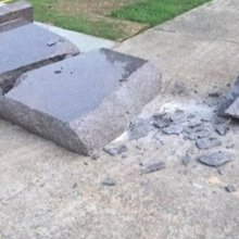 Newly placed 10 Commandments statue at Ark. State Capitol destroyed, man arrested